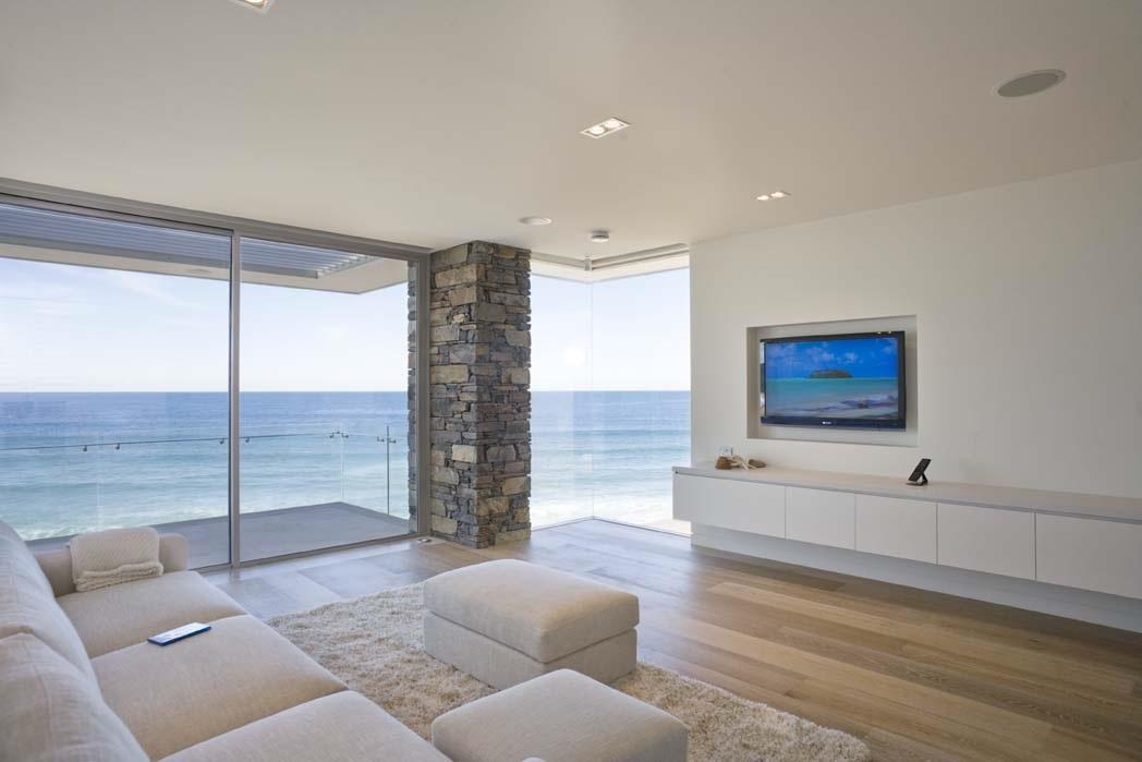 Beach House Design-Living Room