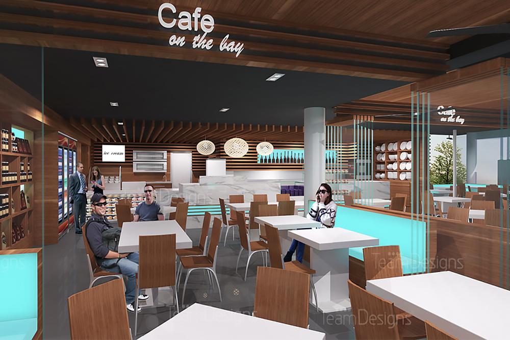 Architect Designed Nelson Bay Cafe, North Coast NSW 006