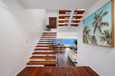 architect designed home killcare central coast sloping site
