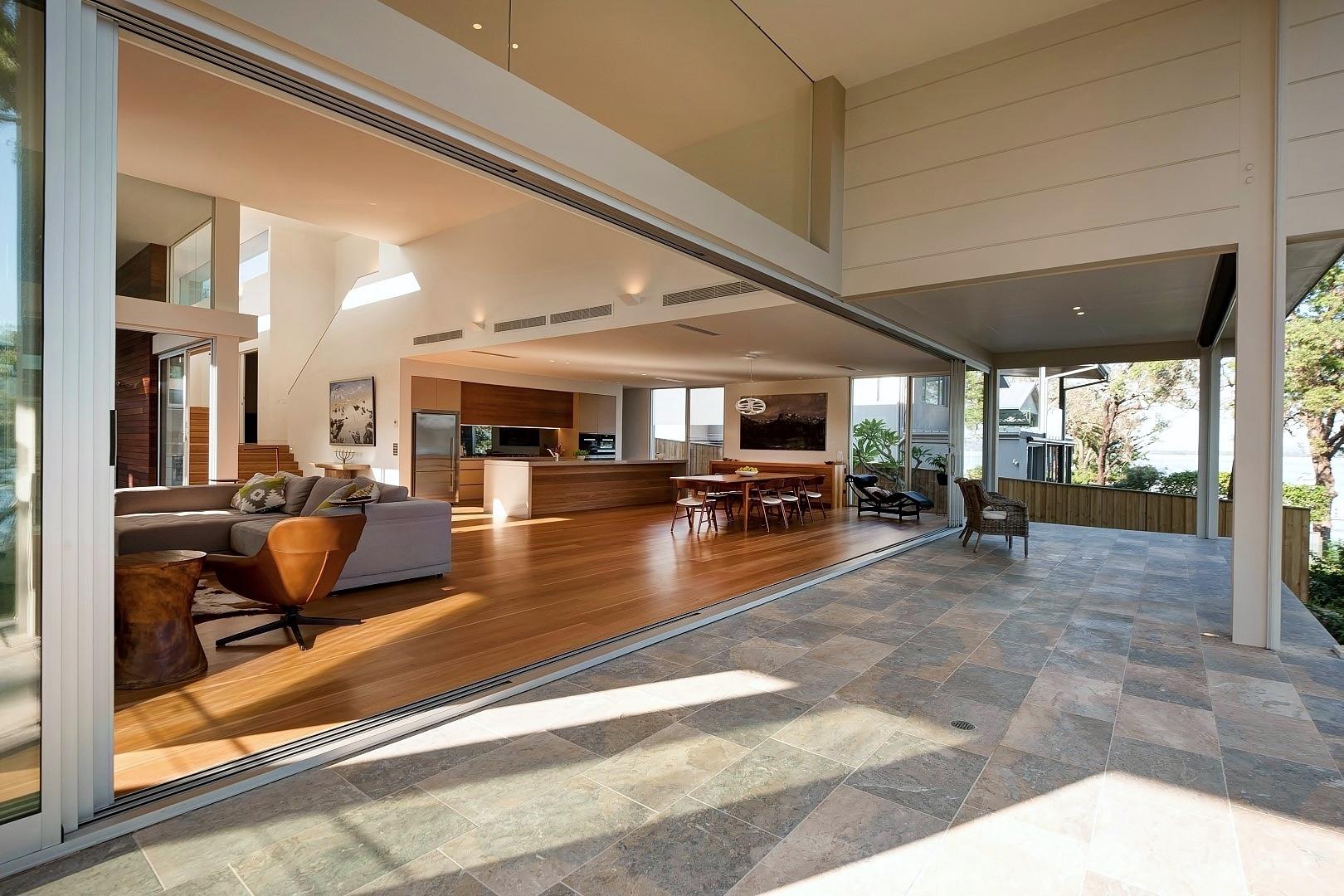 Waterfront Property interior design