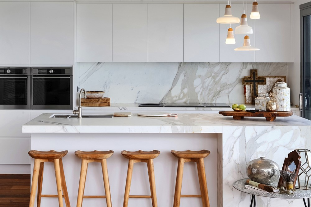 Architect designed beach house - kitchen