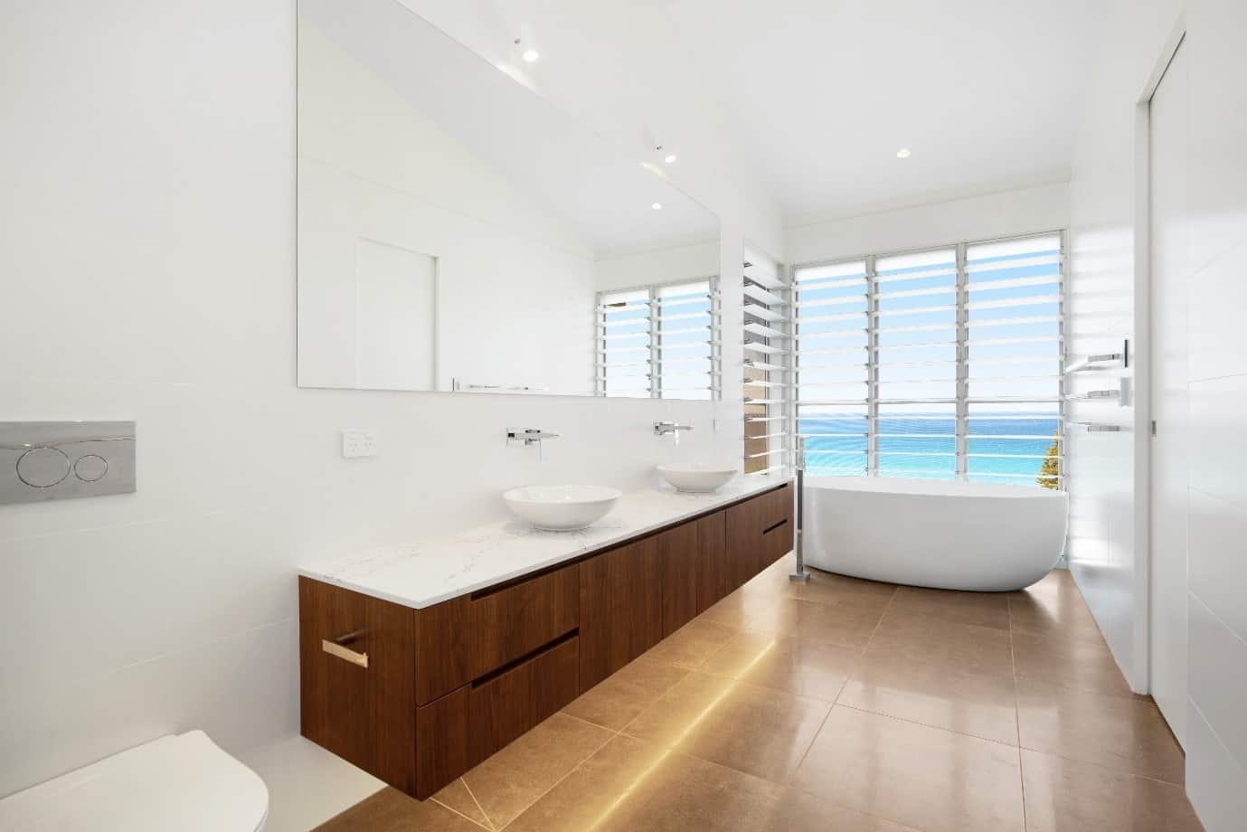 Beach House Bathroom Designs 2 Slater Architects