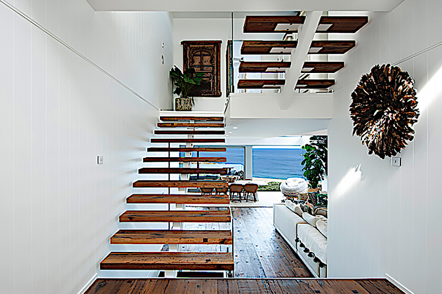 Modern beach house design on the Northern Beaches
