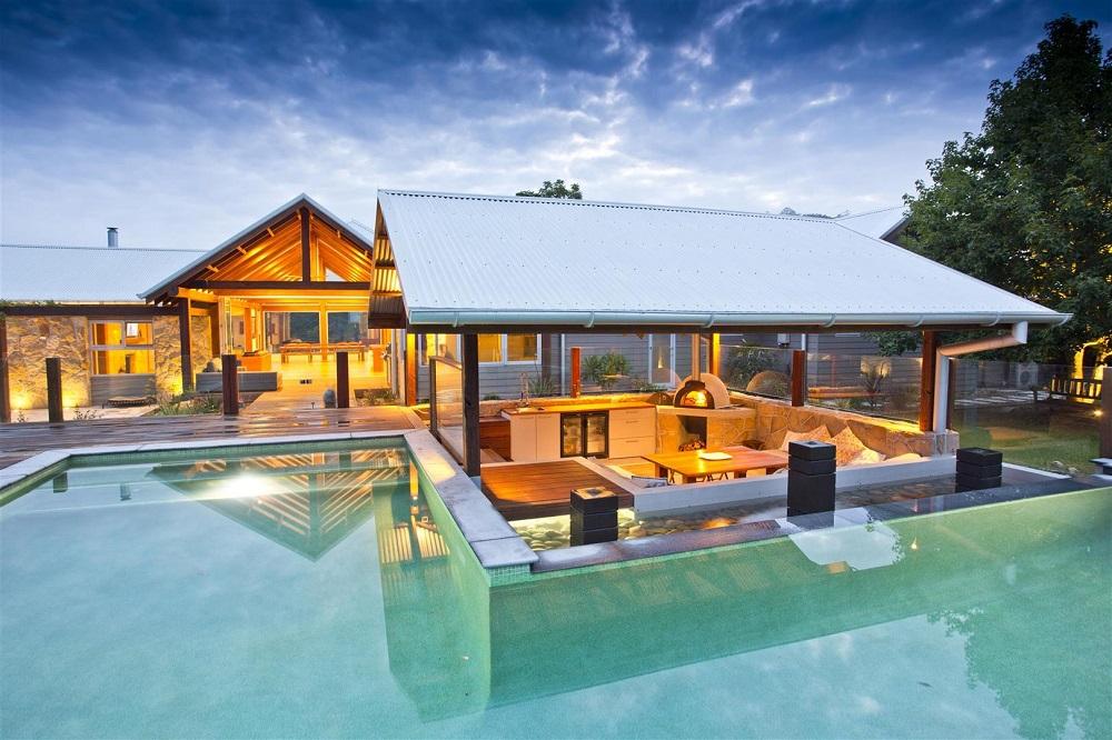 Дом в долине на Центральном побережье 007