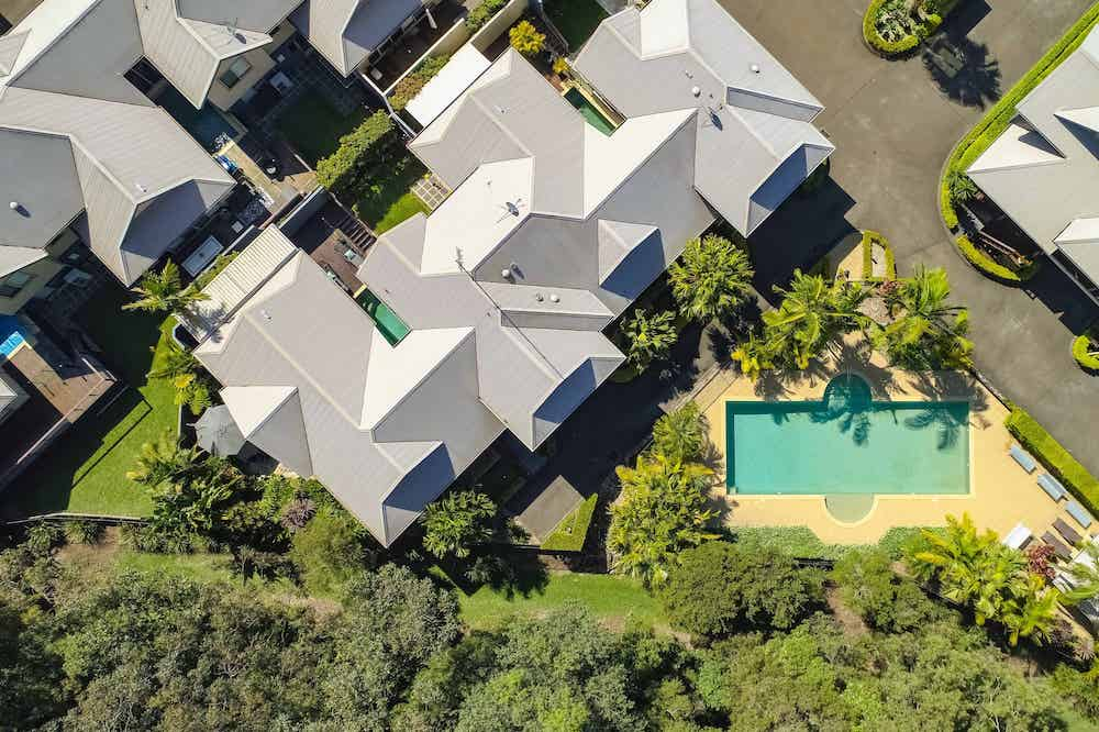 Aerial View of Terrigal Brunswick Apartments