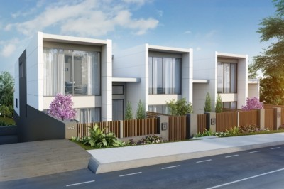 Architect Designed Cube Townhouses in Terrigal 001
