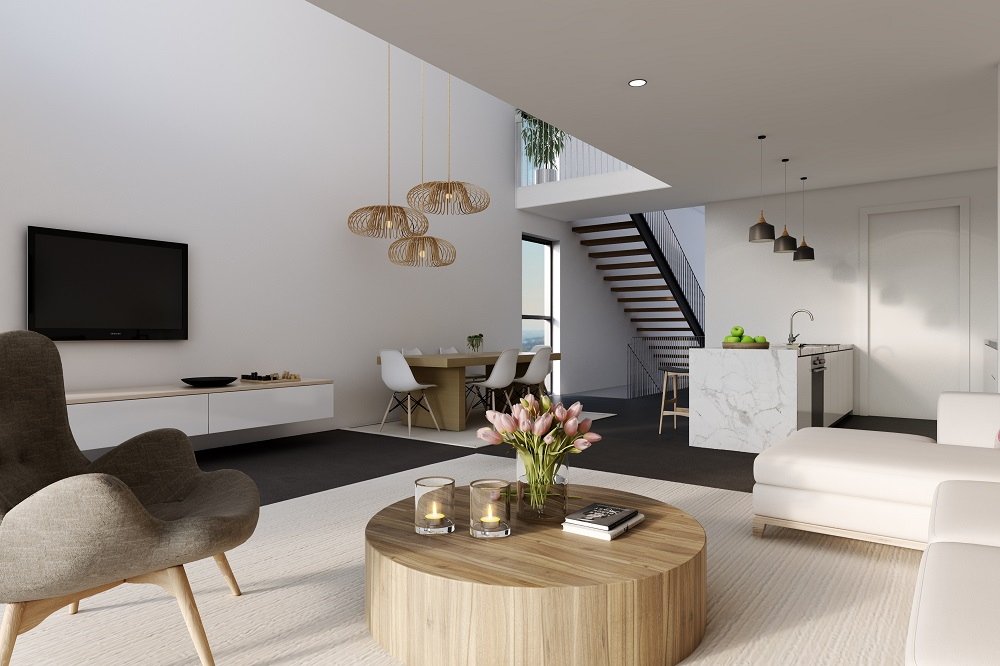 Architect Designed Cube Townhouses in Terrigal 005