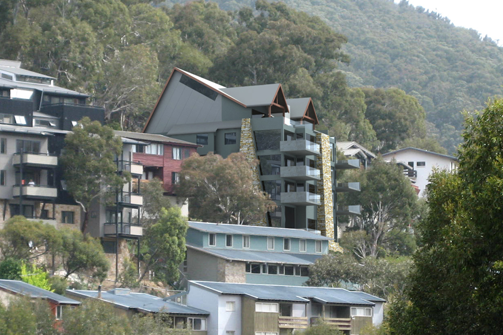Alpine Lodge Apartments Architect Designed 009