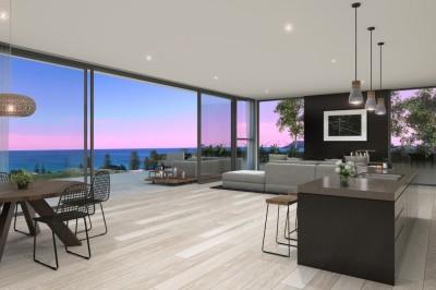Ultra modern interior beach house