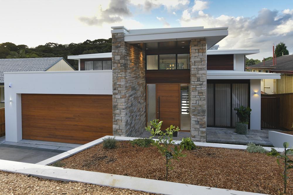 Upward sloping block design