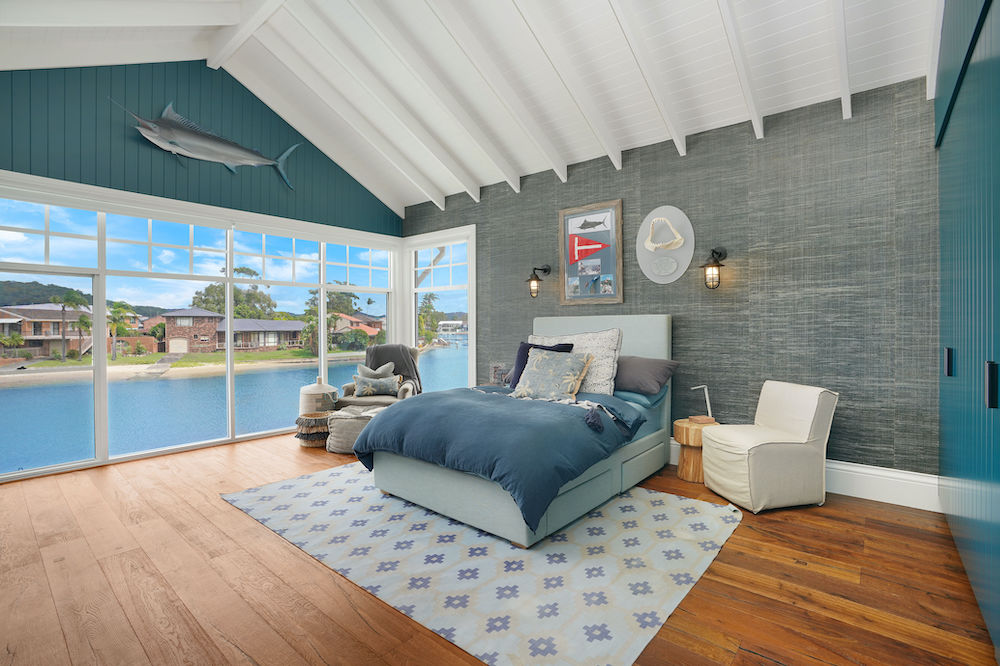 Fishing Themed Guest Room - St Huberts House