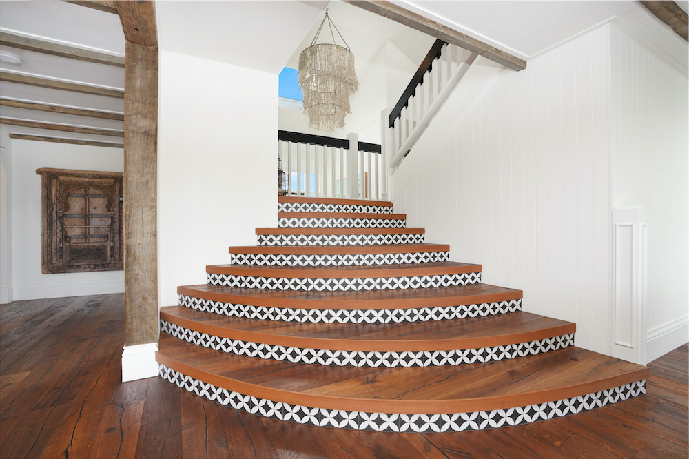 Modern Stairs in Island House