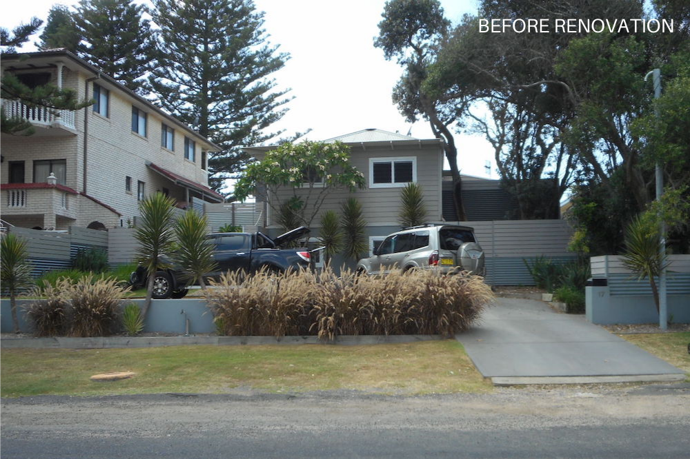 Before Renovation - Pacific House Street View