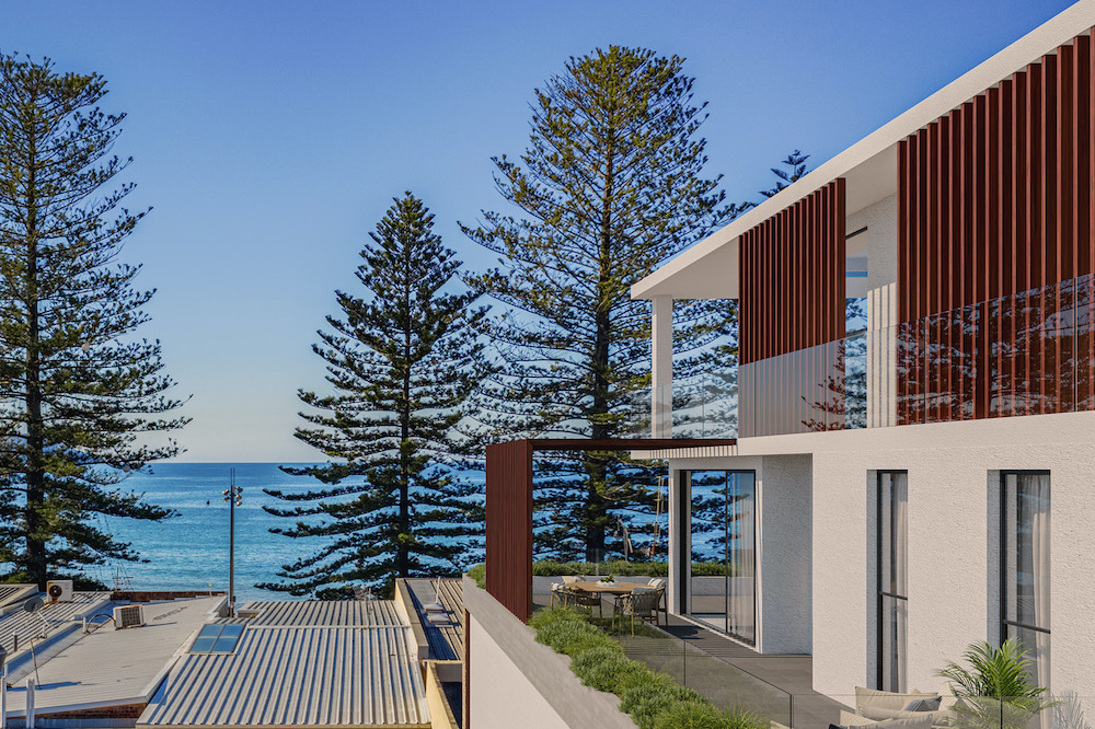 Balcony Space Great For Hosting Events While Overlooking The Beautiful Terrigal Beach
