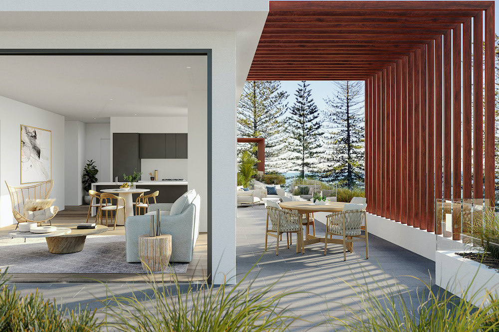 Modern Terrigal Mixed Used Building