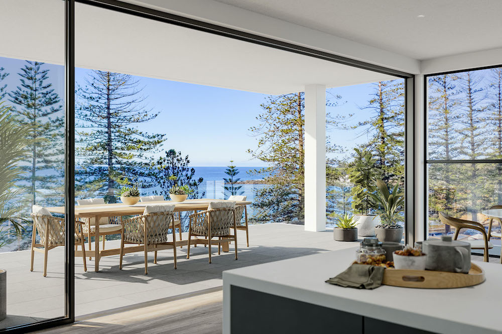 Stunning View of Terrigal Beach & The Haven