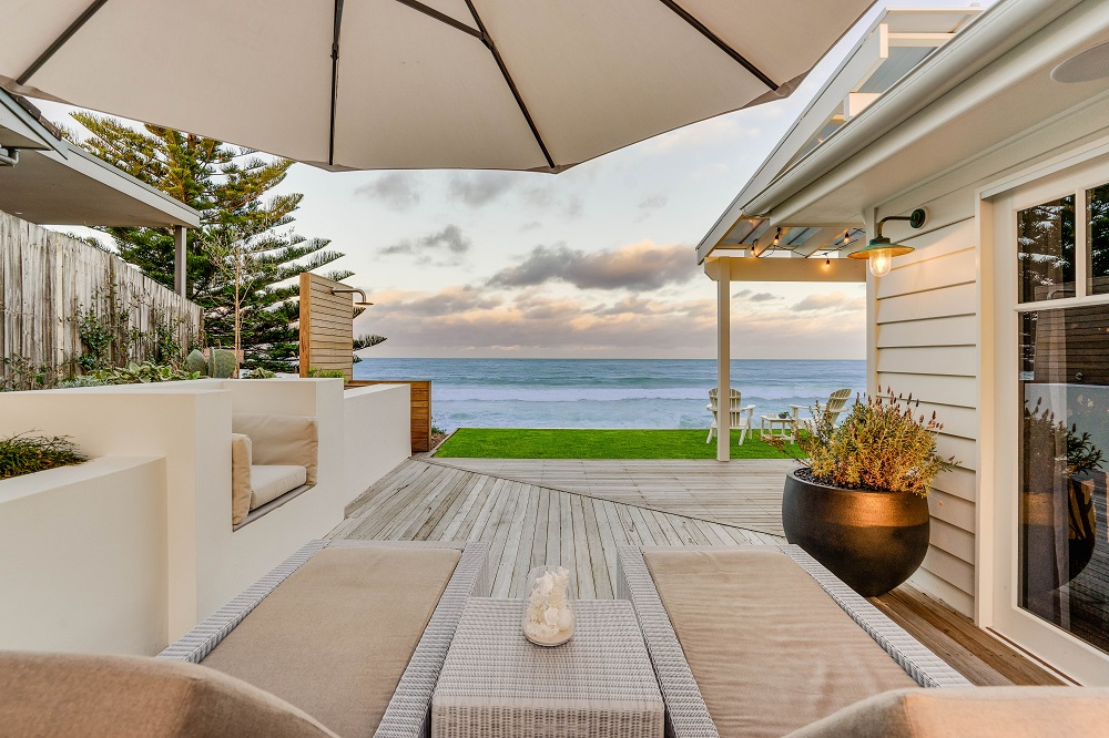 Stunning Views From The Day Beds At The Hamptons House
