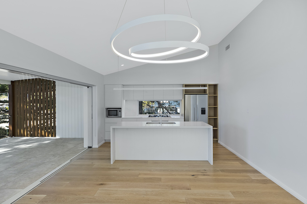 Stunning Kitchen Opens Up To Balcony Overlooking Pearl Beach